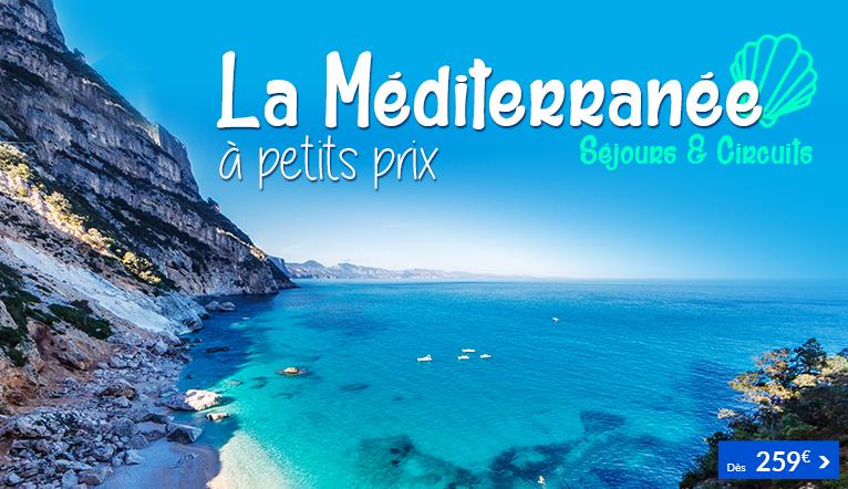 Méditerranée à petits prix