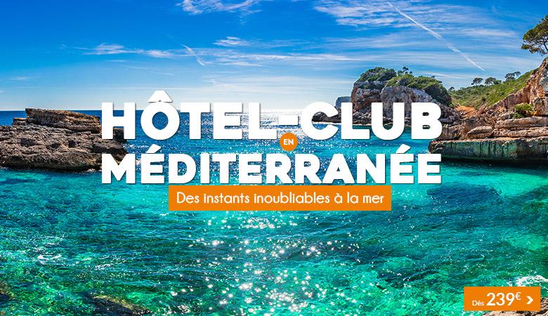 Méditerranée en hôtel-club