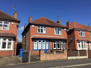 A three bedroomed semi-detached property requiring a full scheme of modernisation and improvement for which there is ample scope.