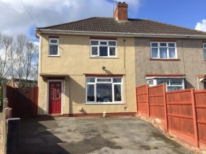 A well maintained three bedroomed semi-detached house enjoying an established cul-de-sac location
