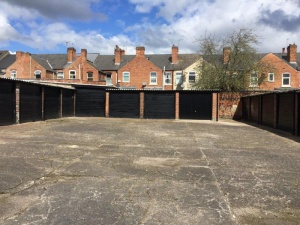 An excellent investment opportunity comprising 21 lock-up garages