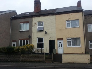 Three bedroomed terraced house situated close to Ilkeston Town Centre.