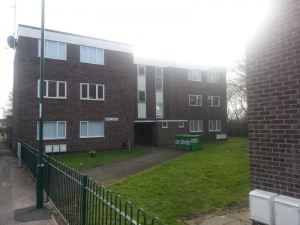 Two bedroomed first floor flat