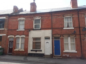Three bedroomed, three storey terraced residence. Currently let on an AST at £350 pcm