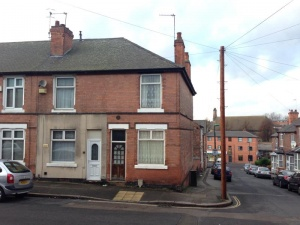 A two bedroomed end terraced property close to the City Centre requiring a full scheme of modernisation and improvements.