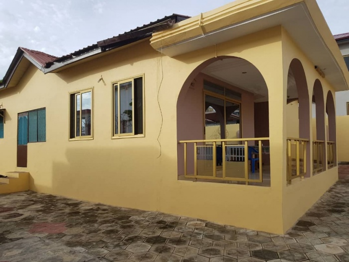 Gbawe 3 Bedroom House,