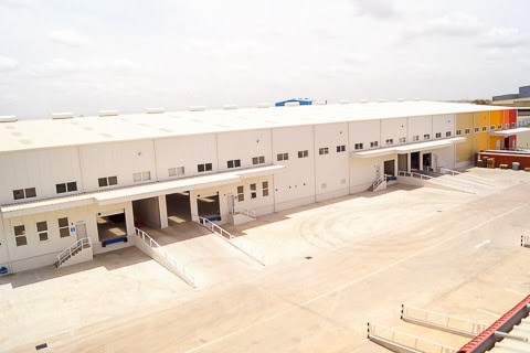 Industrial Warehouse,  Tema,