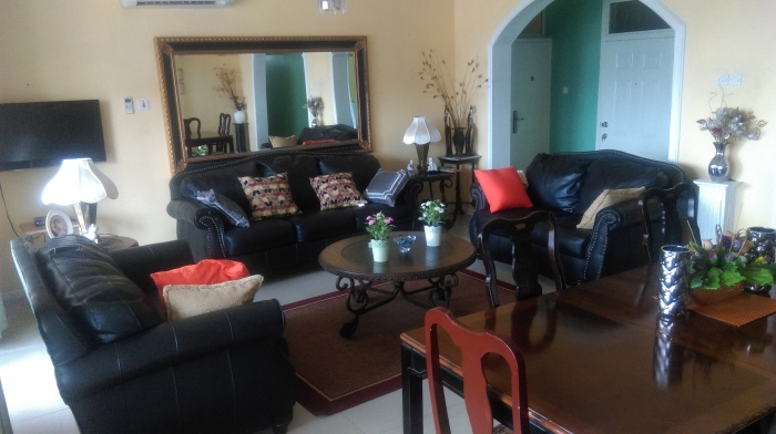 American House Furnished 3 Bed Apt,
