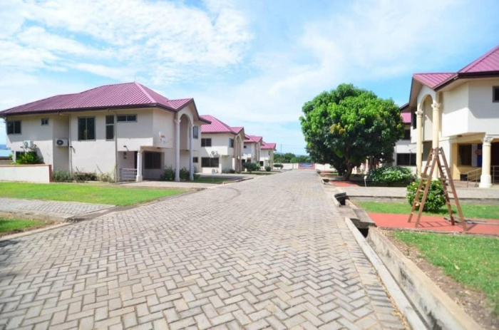 8 X 4 Bed Houses,  Akuse,