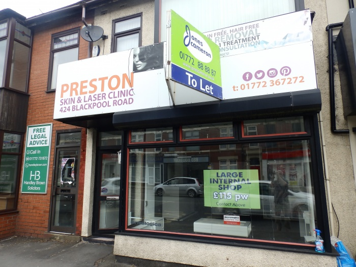 424,  Blackpool Road,  Preston,  PR2 2DX