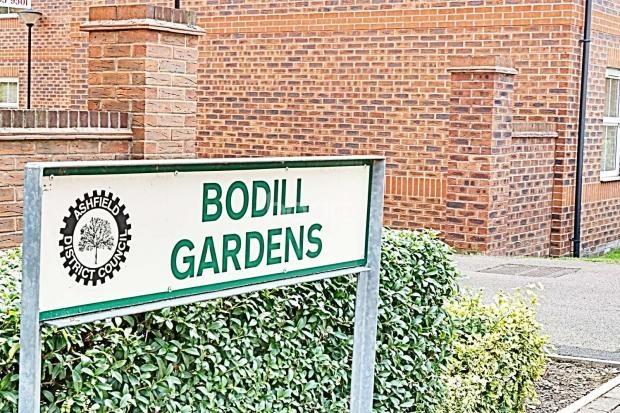 Bodill Gardens, Sherwood Street, Hucknall, Nottingham, NG15