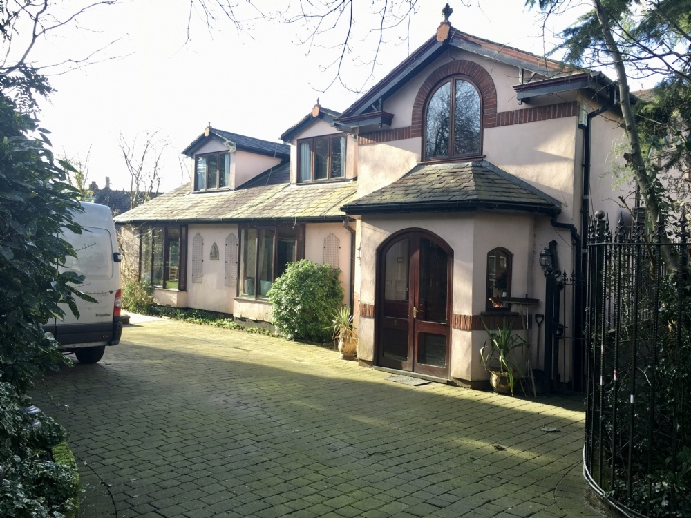 Detached family home for sale at Devon House, 2 Devon Ave, Whitefield, Manchester