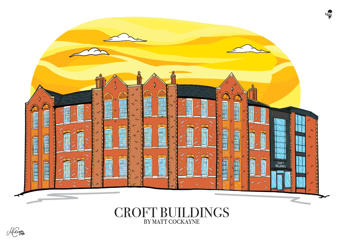 The Croft Buildings 2 Hawley Street, Sheffield, City Centre, S1 2EA
