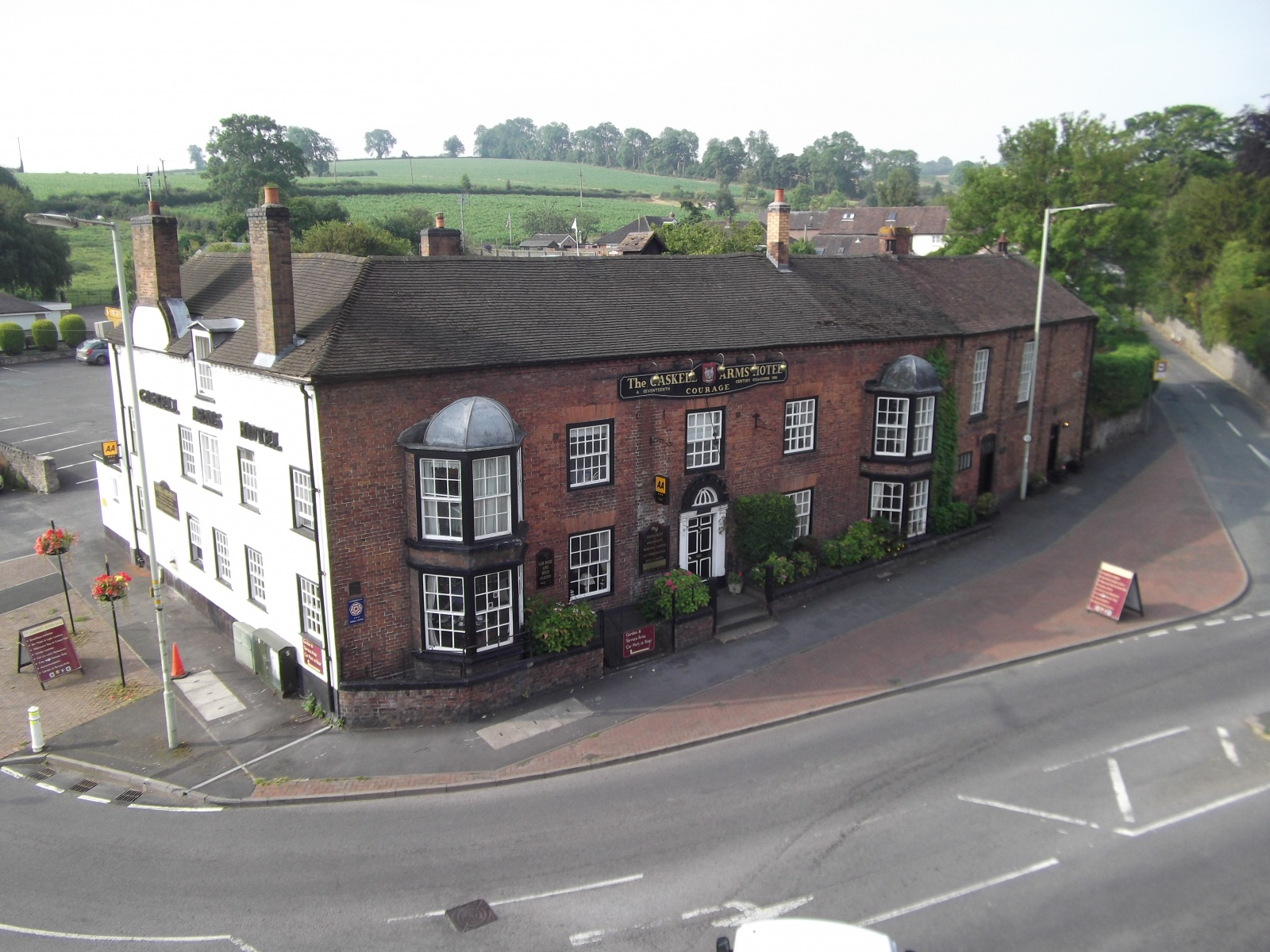 The Gaskell Arms Hotel , Bourton Road, Much Wenlock, Shropshire