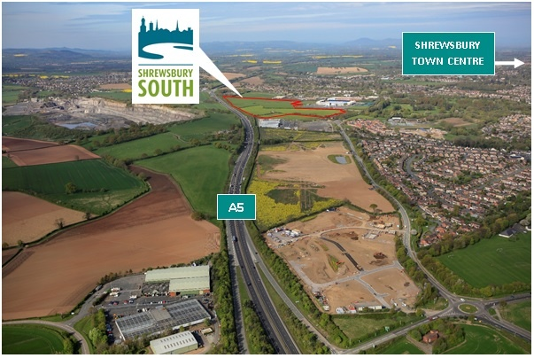 Land At Shrewsbury South , Oteley Road, Shrewsbury, Shropshire