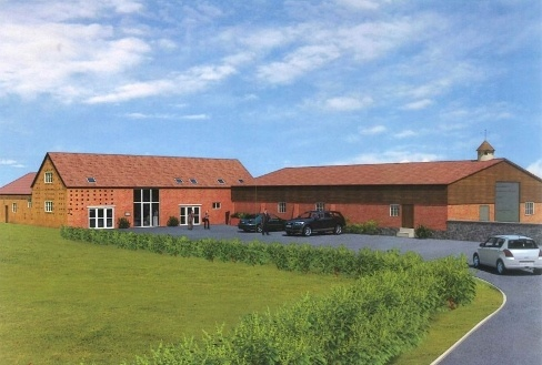 Proposed Office Development , Leasowes Business Park , Cound , Shrewsbury