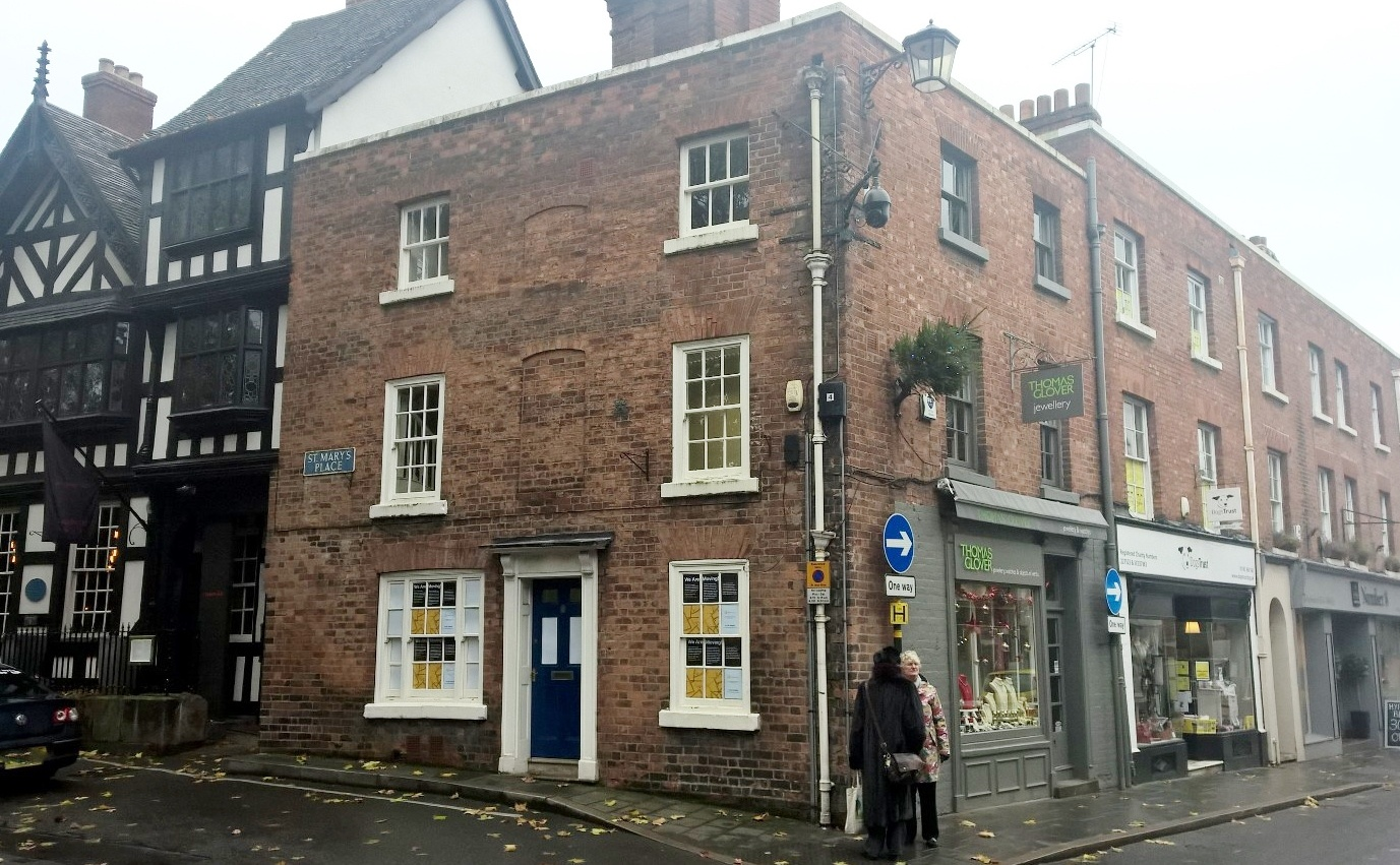 11 , St. Mary's Street, Shrewsbury, Shropshire