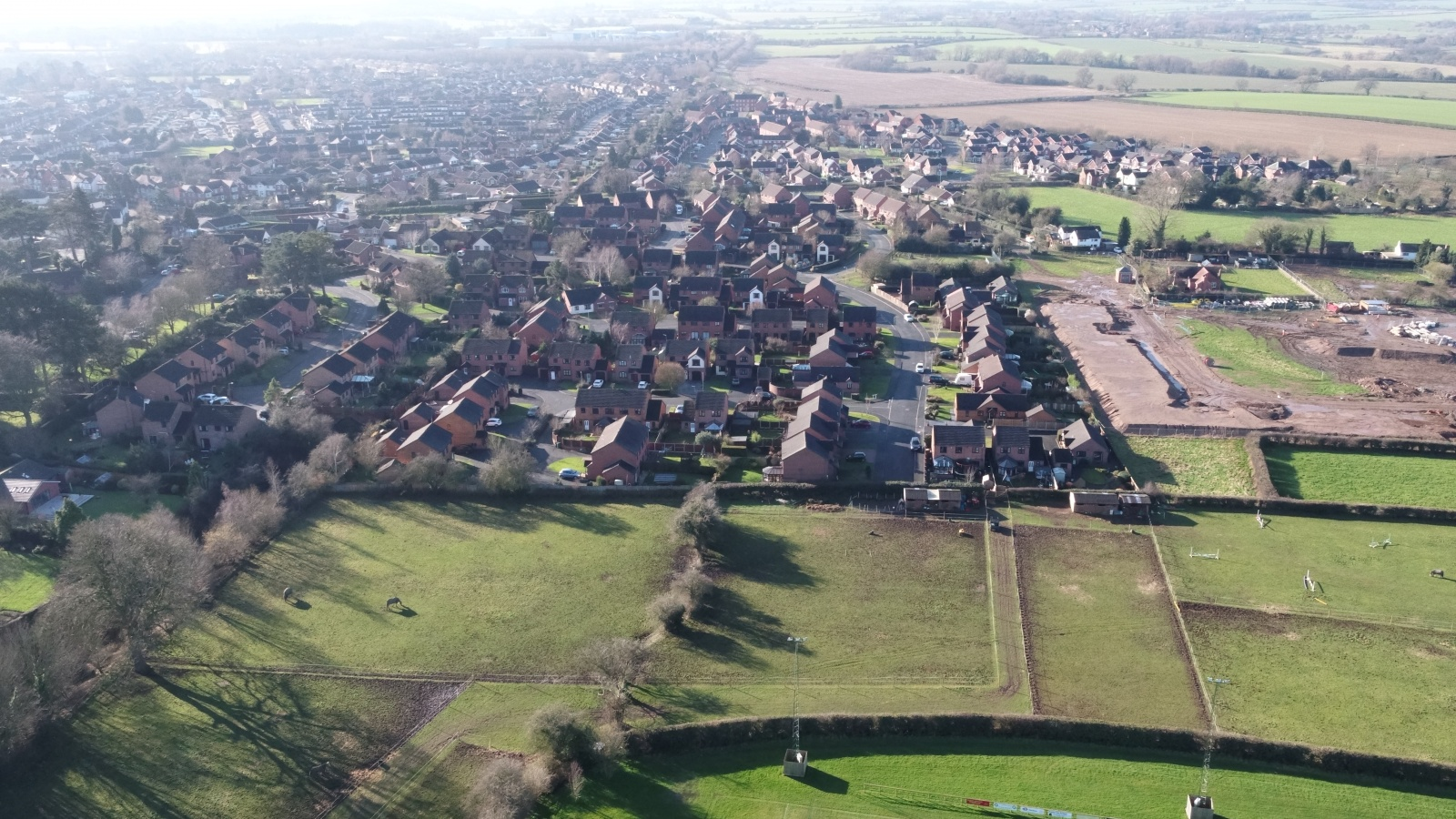 Land At Greenfields, Market Drayton, Shropshire
