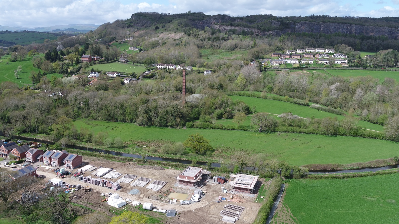 Land At Station Yard , Station Road , Llanymynech , Shropshire