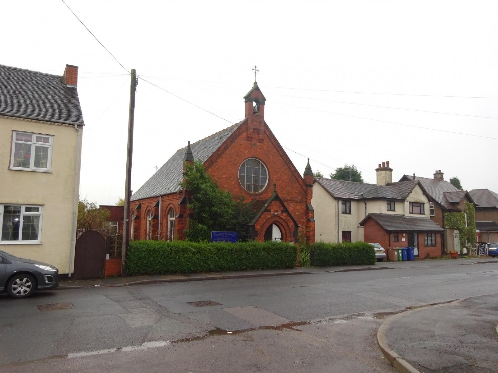 St Saviours Church, High Mount Street, Hednesford, Staffordshire