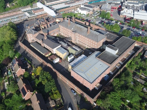 The Former Hmp Dana Prison, Howard Street, Shrewsbury, Shropshire