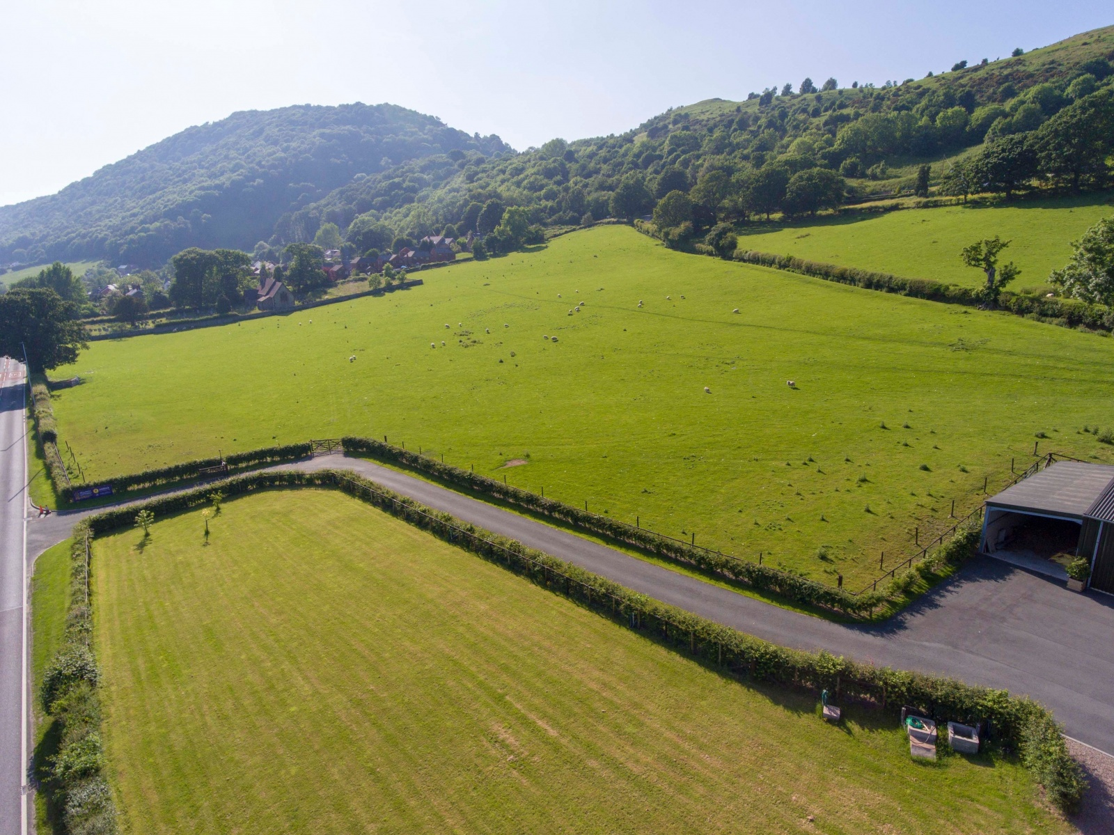 Land Adjacent To The Fron, Middletown, Nr Welshpool, Powys