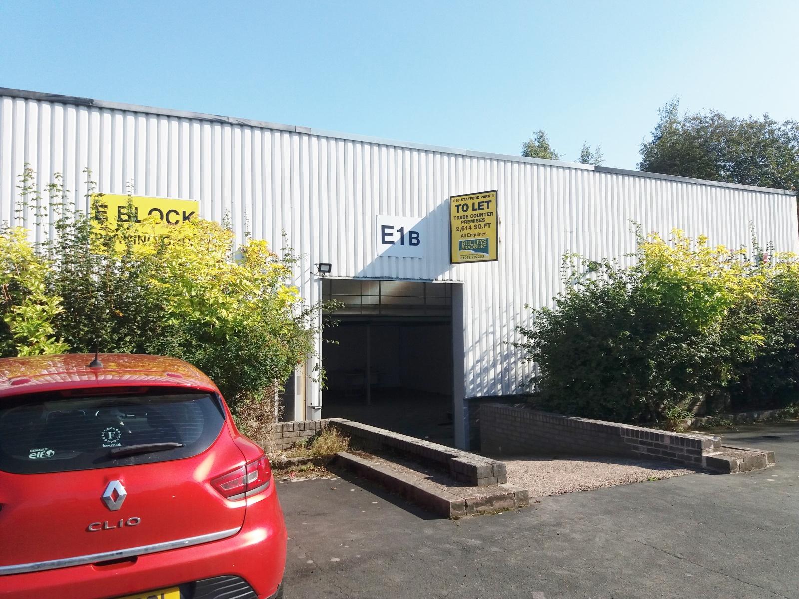 Unit E1 B, Stafford Park 4, Telford, Shropshire