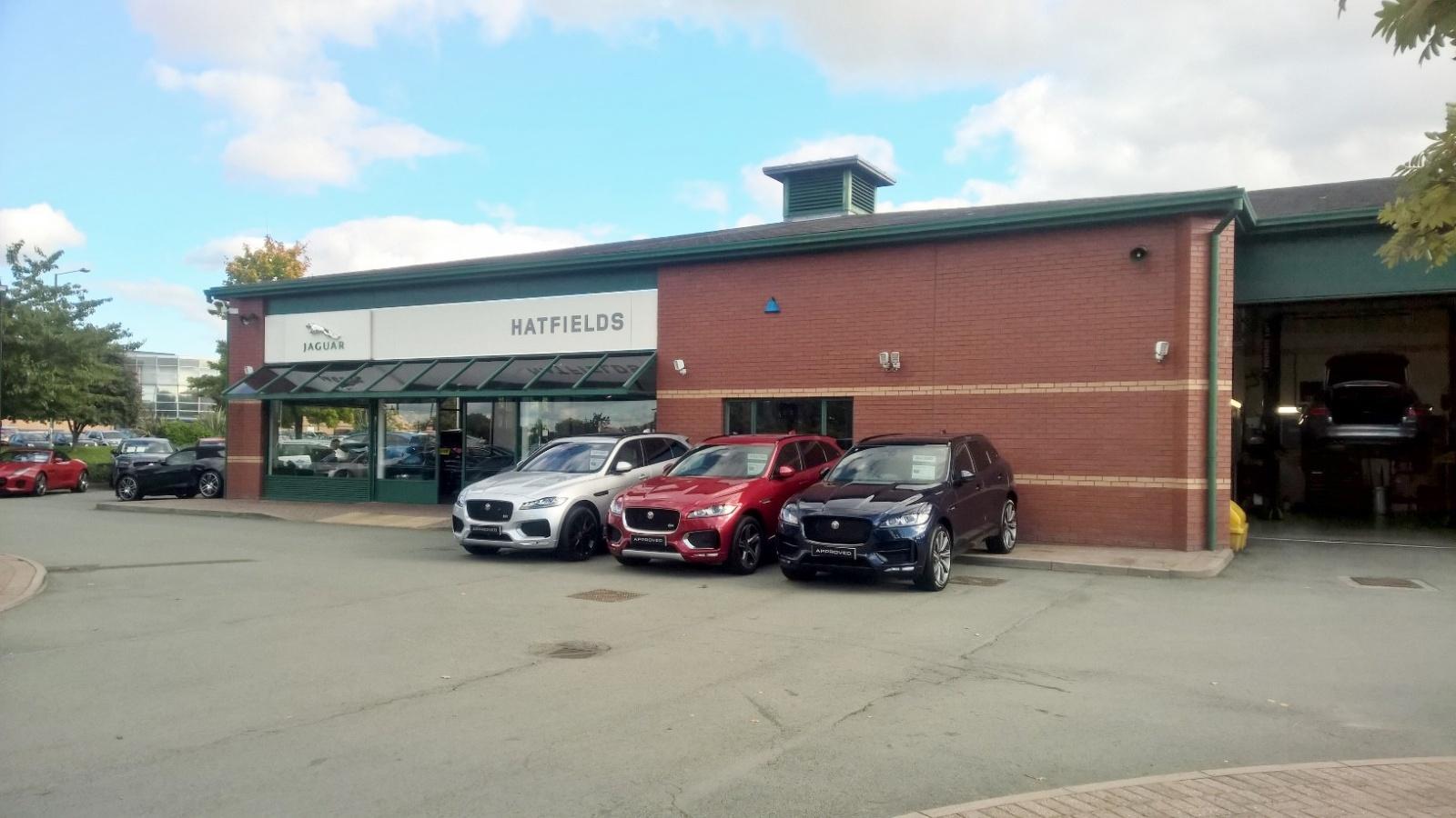 Hatfields Jaguar, Brassey Road, Shrewsbury, Shropshire
