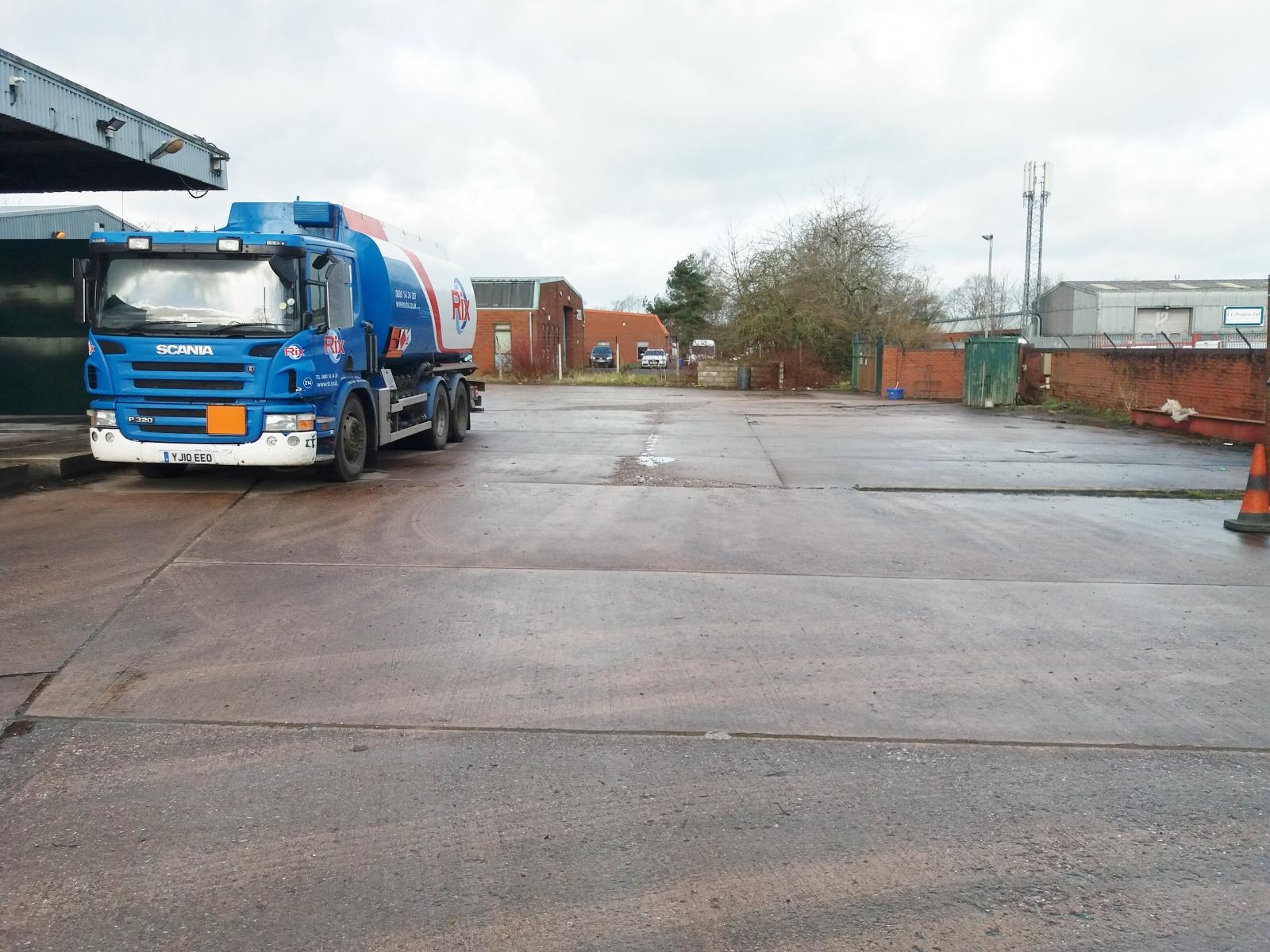 Depot And Yard, Llewellyn Roberts Way, Market Drayton, Shropshire