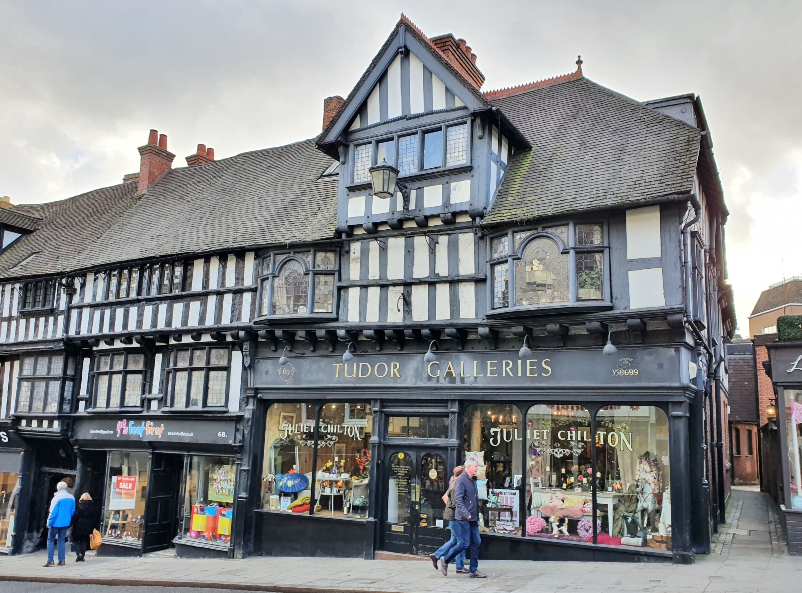 Tudor Galleries, 69 Wyle Cop, Shrewsbury, Shropshire