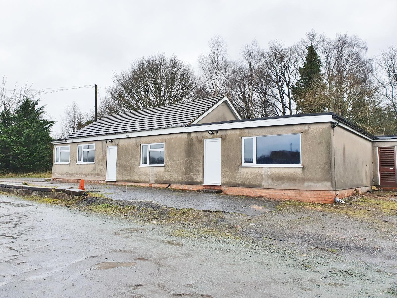 Former Weighbridge Office, Upper Battlefield, Shrewsbury, Shropshire
