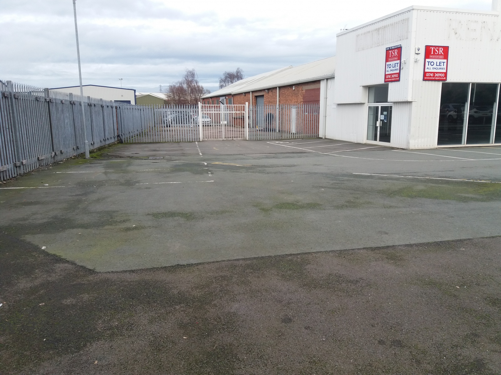 Waverley Garage, Featherbed Lane, Shrewsbury, Shropshire