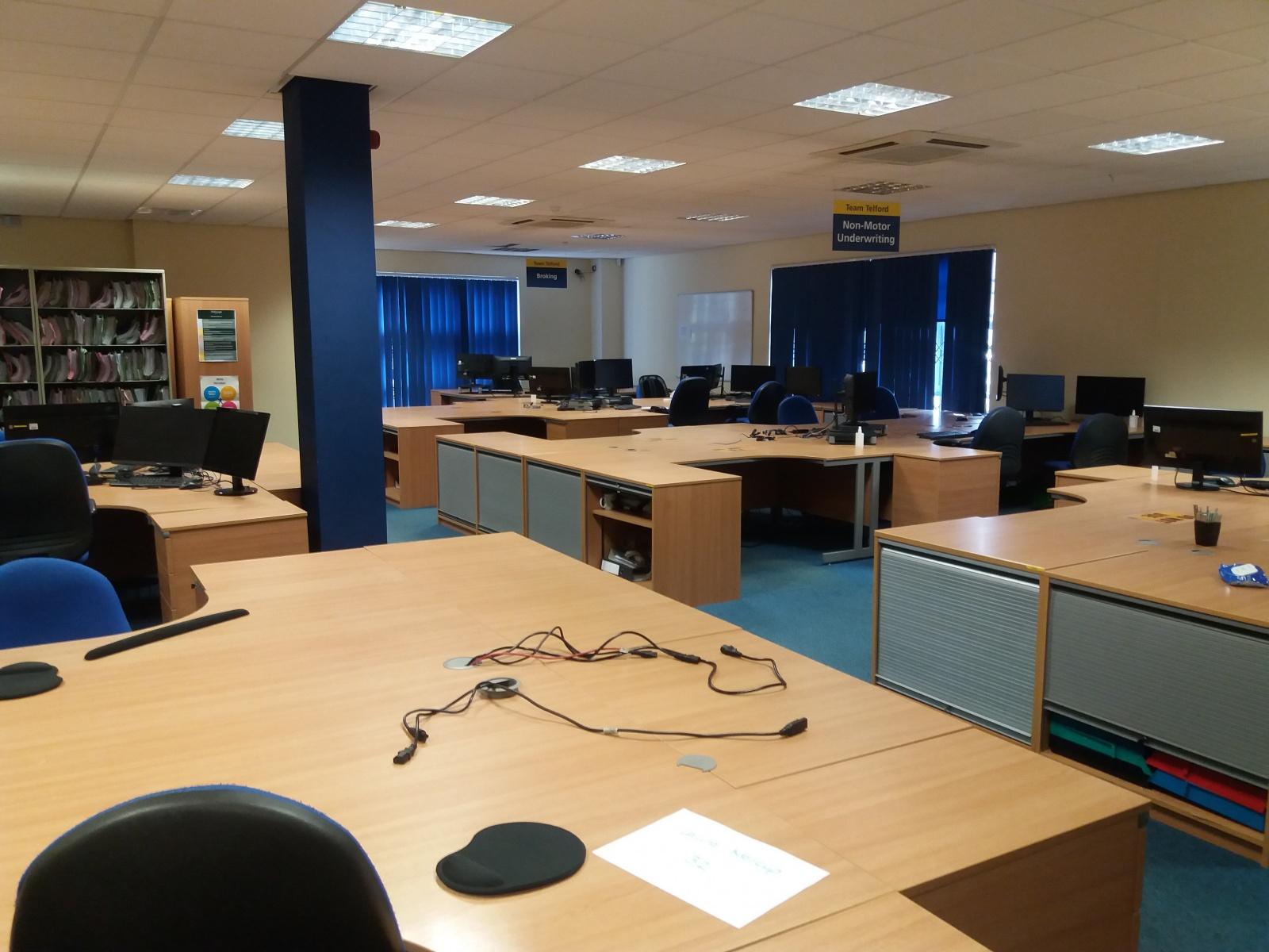 Ground Floor Office Suite, Towergate House, Euston Way, Telford, Shropshire
