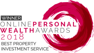 Best Property Investment Service award logo