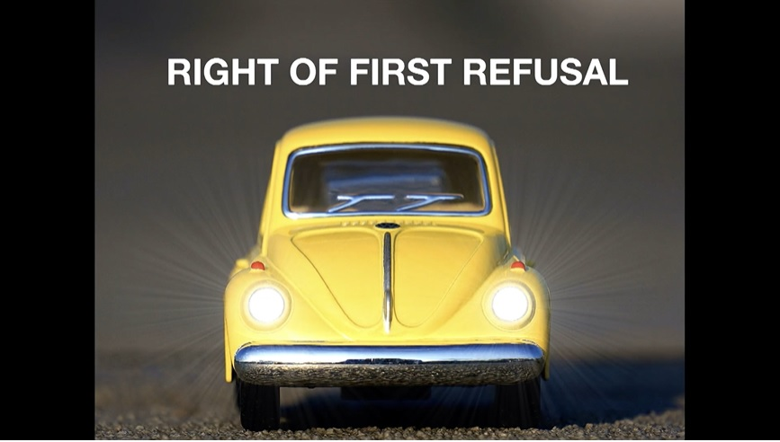 Right-of-refusal