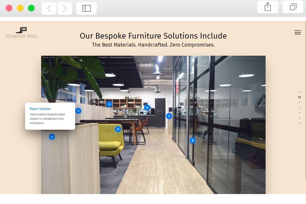 Furniture Company Web Design - Pro Web Designs