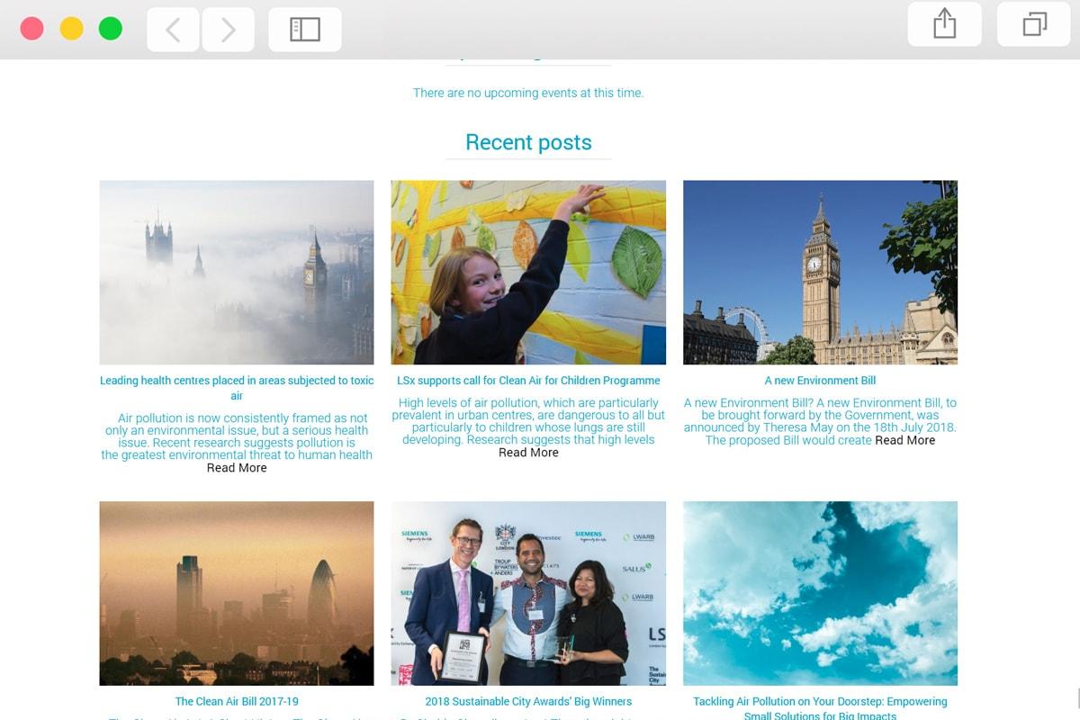 Charity Web Design - Pro Web Designs