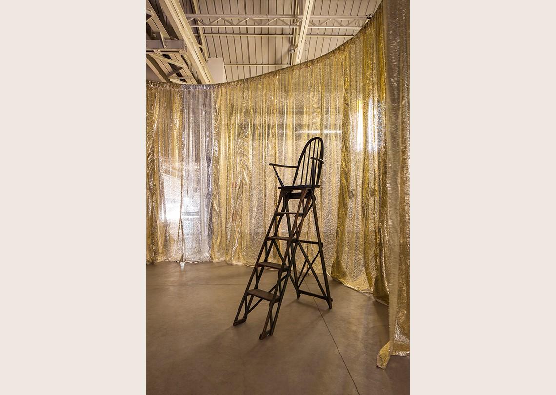 Céline Condorelli Structure for Reading, 2012 Courtesy l'artista, Fondazione HangarBicocca, Milano Foto Agostino Osio