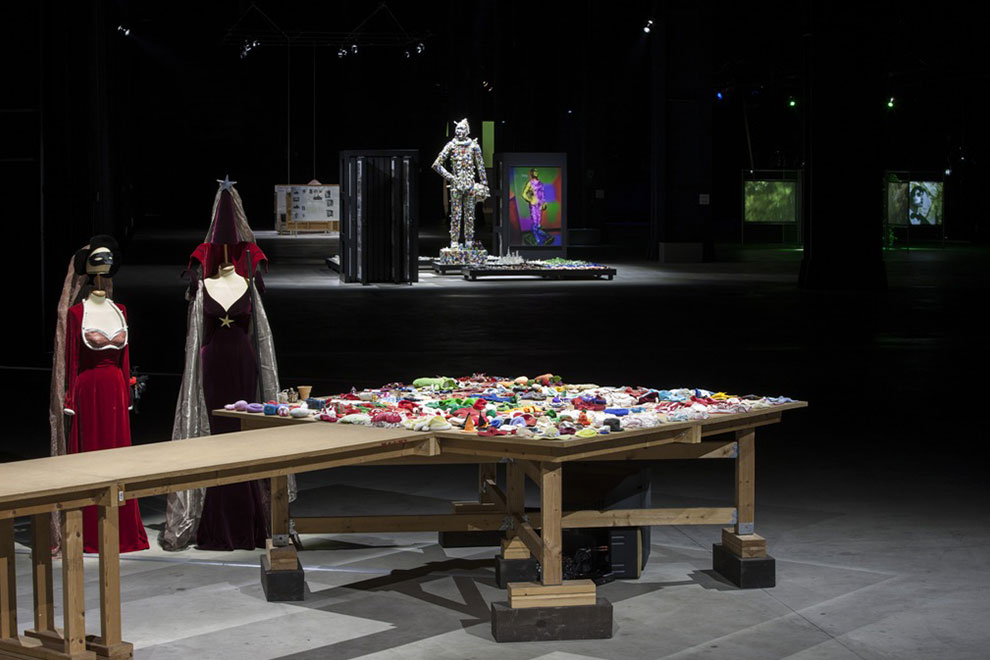All Mike Kelley works © Estate of Mike Kelley. All rights reserved. Courtesy Fondazione HangarBicocca, Milano Foto: Agostino Osio