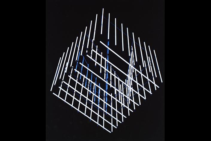 Lucio Fontana, Lampadario, Städtische Galerie im Lenbachhaus, Munich, 1959-1960. © Fondazione Lucio Fontana