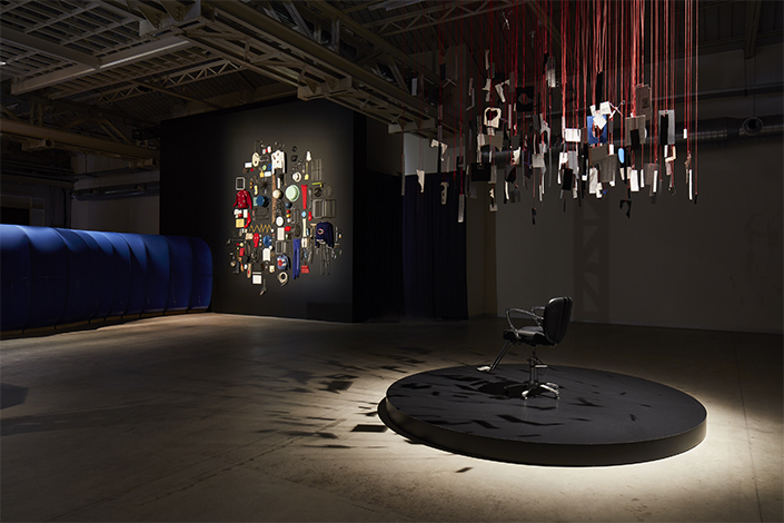 "Eva Kot'átková ""The Dream Machine is Asleep"", veduta della mostra, Pirelli HangarBicocca, Milano, 2018. Courtesy dell'artista e Pirelli HangarBicocca, Milano. Foto: Agostino Osio"