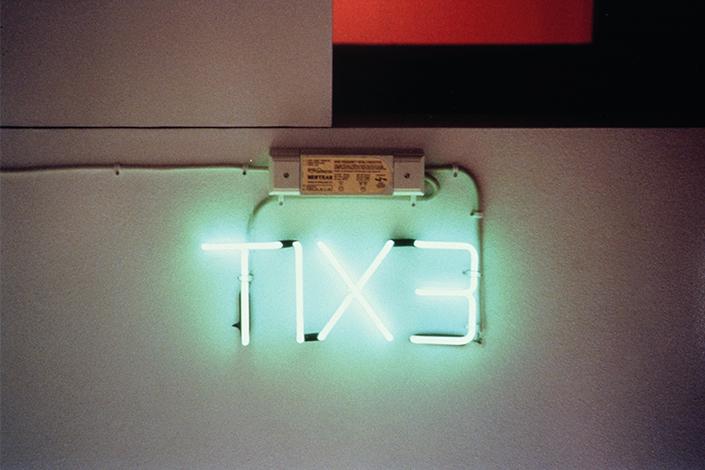 Cerith Wyn Evans TIX3, 1994 © Cerith Wyn Evans, courtesy White Cube Foto: Stephen White