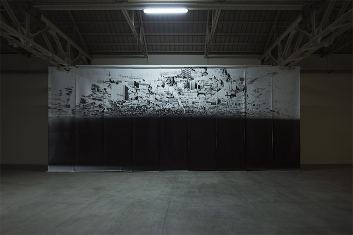 Giorgio Andreotta Calò Città di Milano, 2019 Veduta dell'installazione, Pirelli HangarBicocca, Milano, 2019. Commissionata e prodotta da Pirelli HangarBicocca. Courtesy dell'artista e Pirelli HangarBicocca. Foto: Agostino Osio