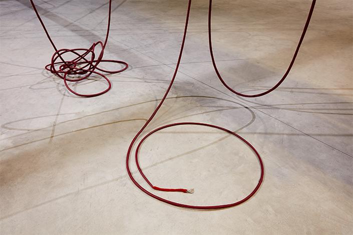 Sheela Gowda And…, 2007 (dettaglio) Courtesy dell'artista e Pirelli HangarBicocca, Milano Foto: Agostino Osio