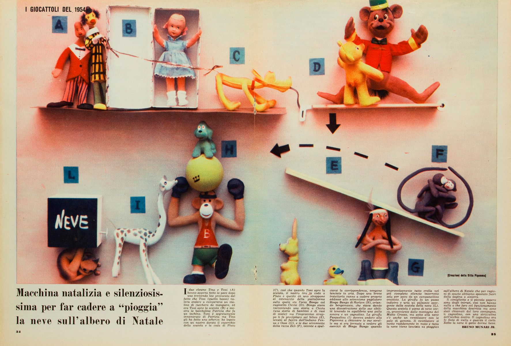 Albero Di Natale Yahoo.Pirelli Toys In The 1950s From Pigomma To The Rempel Patent