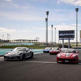 Yas Marina Abu Dhabi P ZeroTM Experience