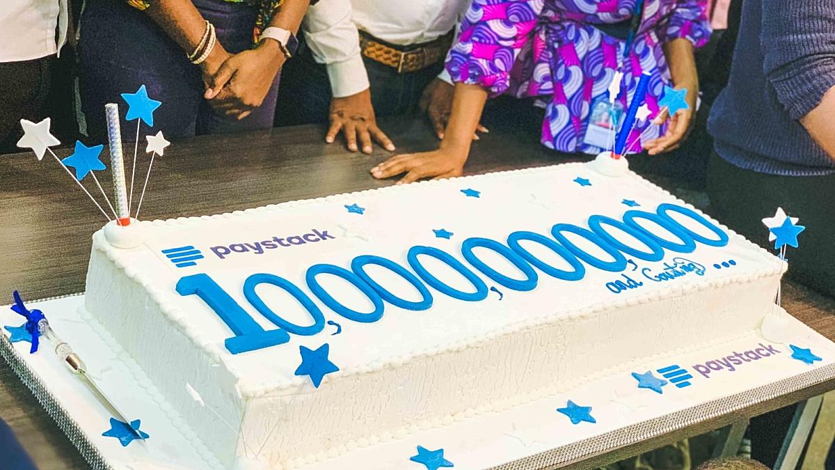 Cake celebrating 10