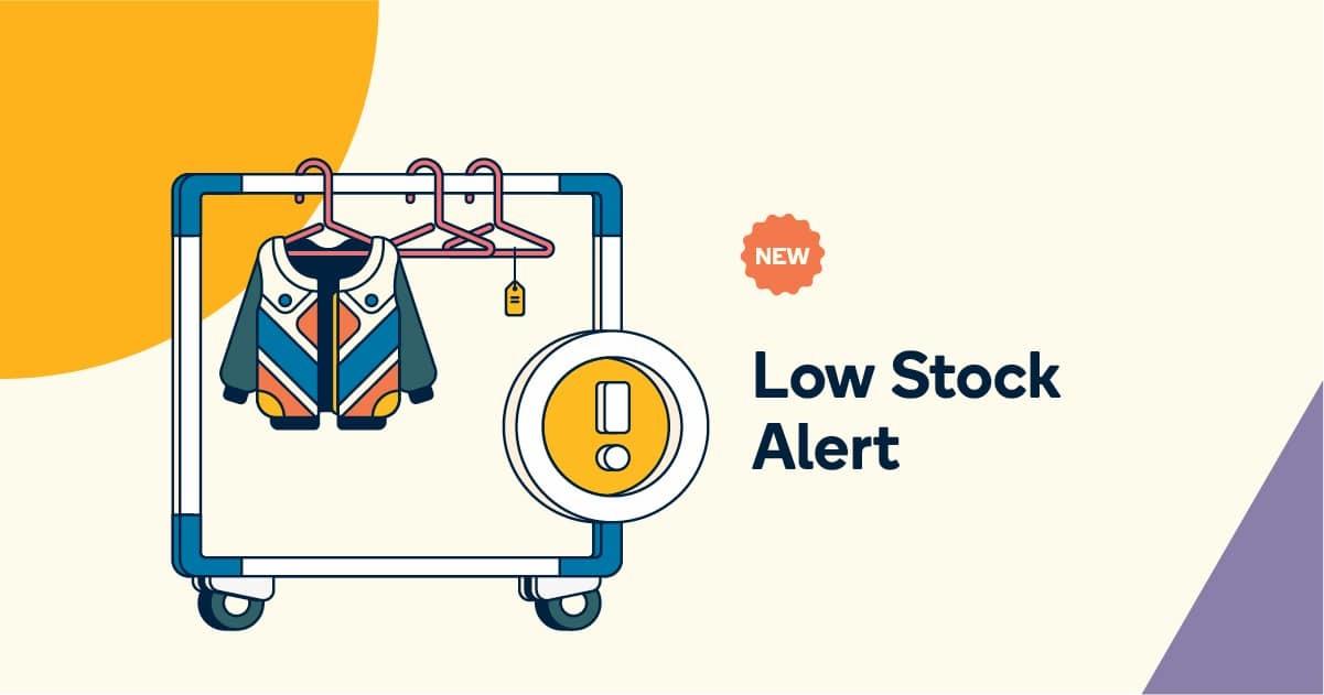 low stock alert