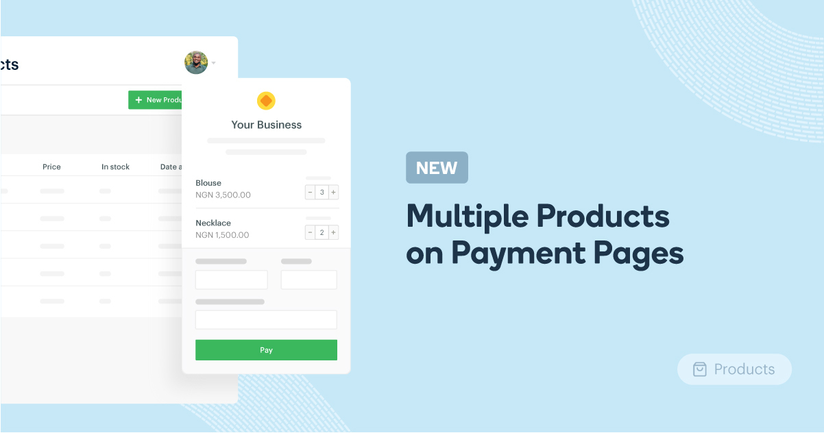 payment pages