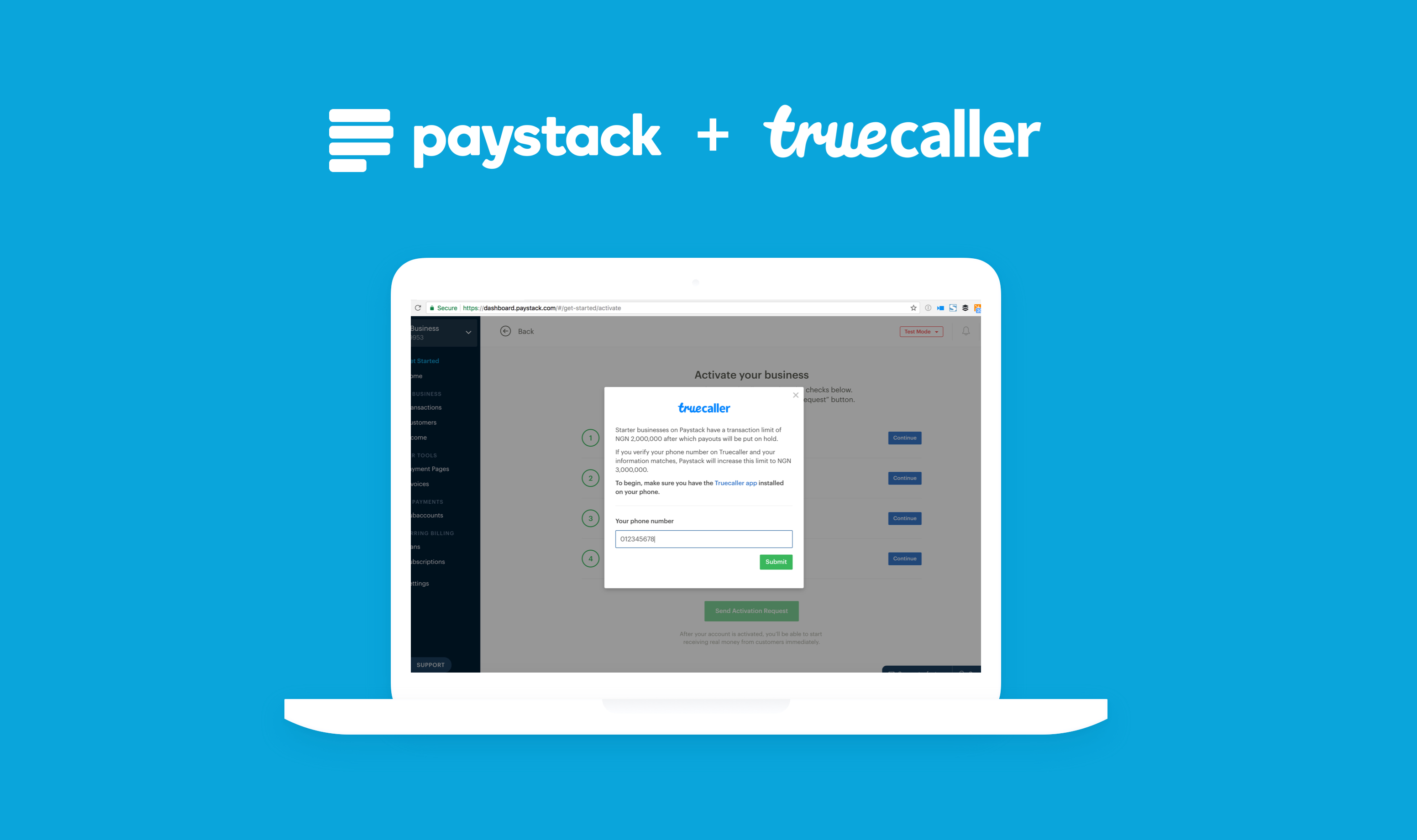 Paystack partners with Truecaller to enable more African